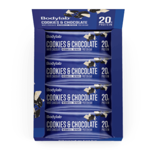 Bodylab Protein Bar (12 x 55 g) - Cookies & White Chocolate