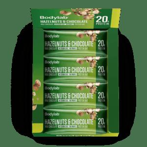 Bodylab Protein Bar (12 x 55 g) - Hazelnuts & Chocolate