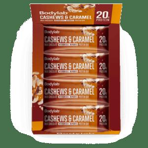 Bodylab Protein Bar Cashews & Caramel 12x55g