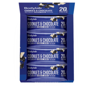Bodylab Protein Bar Cookies and White Chocolate 12x55g