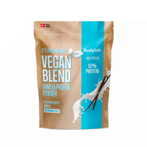 Bodylab Vegan Blend Protein Powder 400g-Vanilla