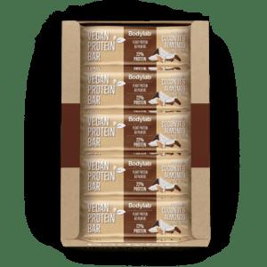 Bodylab Vegan Protein Bar (20 x 40 g) - Coconut & Almonds