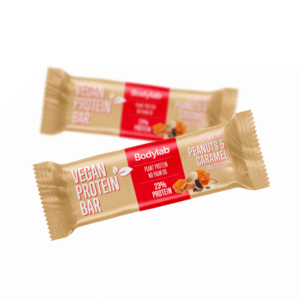 Bodylab Vegan Protein Bar - Peanuts & Caramel 40g