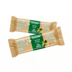 Bodylab Vegan Protein Bar - Pistachio & Peanuts 40g