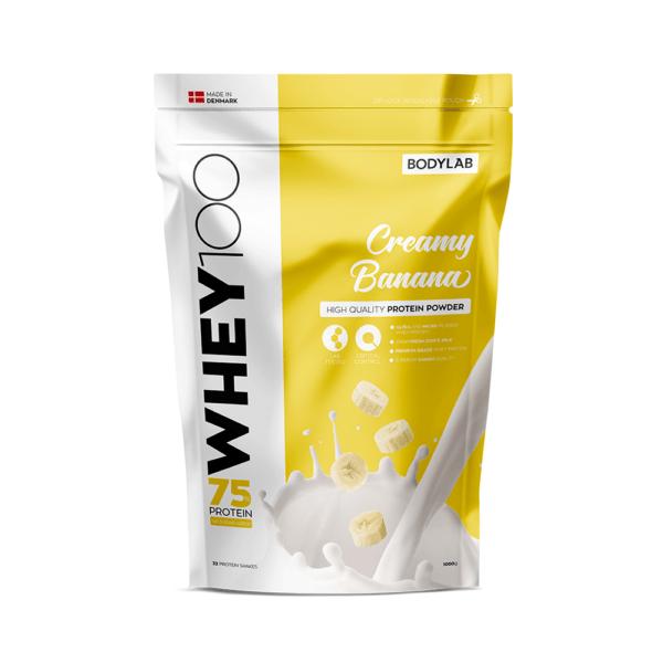 Bodylab Whey 100 (1 kg) Creamy Banana