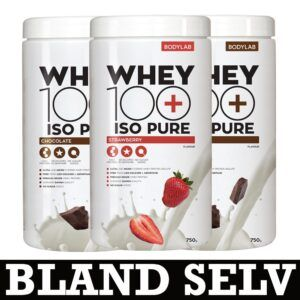 Bodylab Whey 100 ISO Pure (3x 750g)