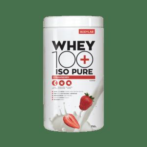 Bodylab Whey 100 ISO Pure (750 g) - Strawberry