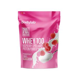 Bodylab Whey 100 - Raspberry & Yoghurt (1 kg)