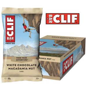 Clif Bar - White Chocolate Macadamia Nut (12x68g)
