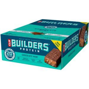 Clif Builders Protein Bar - Chocolate Mint (12x68g)