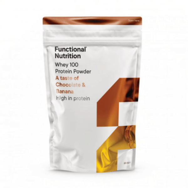 Functional Nutrition Whey 100 - 850g-Chocolate Banana (NYHED)