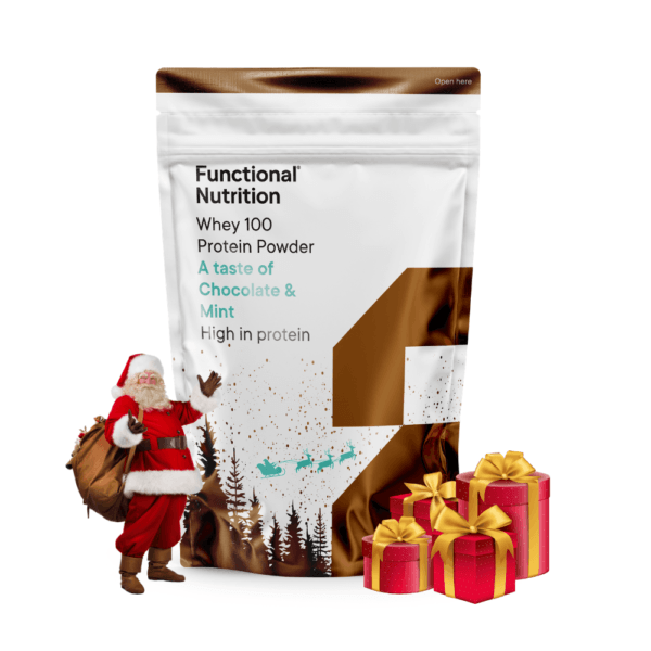 Functional Nutrition Whey 100 - 850g-Chocolate & Mint (Christmas Edition)
