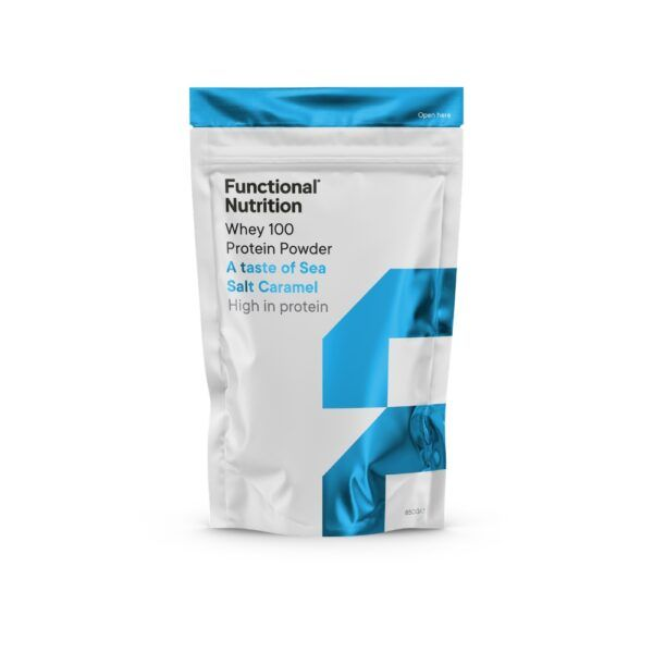 Functional Nutrition Whey 100 - 850g-Sea Salt & Caramel