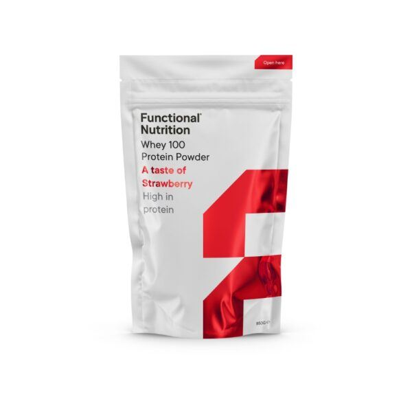 Functional Nutrition Whey 100 - 850g-Strawberry