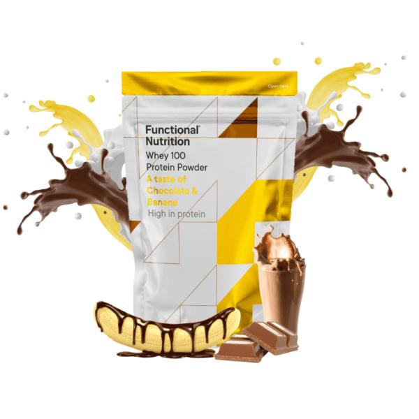 Functional Whey 100 (850g) - Chocolate & Banana
