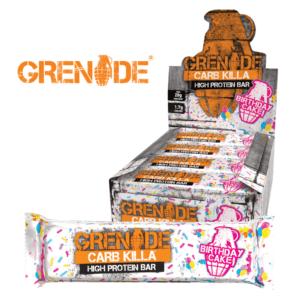 Grenade Carb Killa Birthday Cake (12x60g)