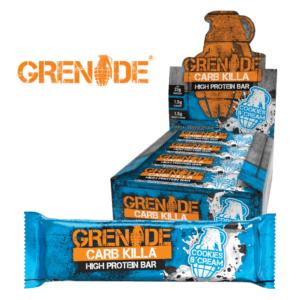 Grenade Carb Killa Cookies and Cream (12x60g)
