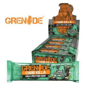 Grenade Carb Killa Dark Chocolate Mint (12x60g)