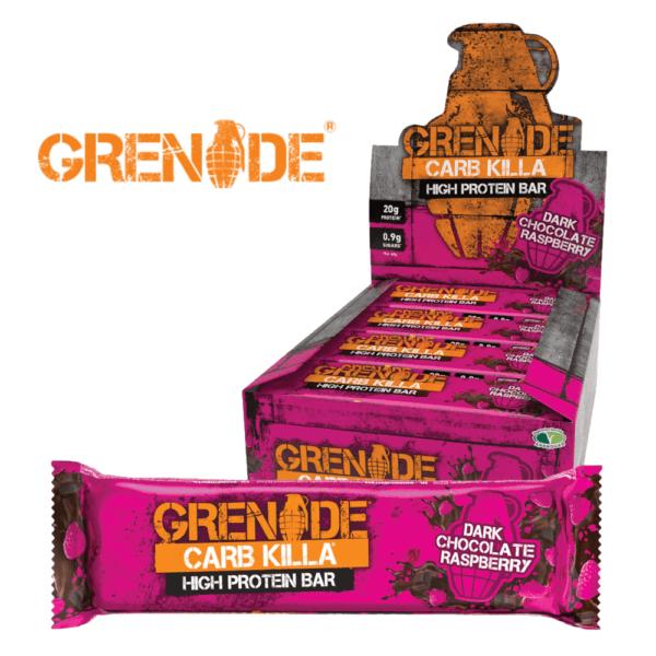 Grenade Carb Killa Dark Chocolate Raspberry (12x60g)