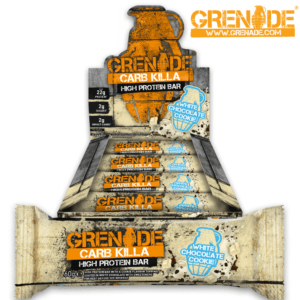 Grenade Carb Killa White Chocolate Cookie (12x60g) - OBS! BEDST FØR 31/05