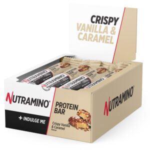 Nutramino Protein Bar Crispy Vanilla & Caramel 12x64g