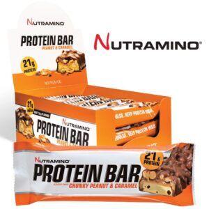 Nutramino Proteinbar Chunky Peanut & Caramel (12x60g)