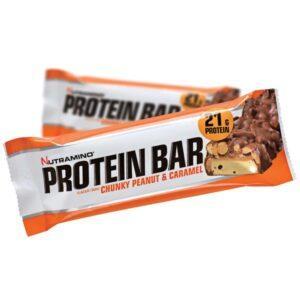 Nutramino Proteinbar Chunky Peanut & Caramel (1x60g)