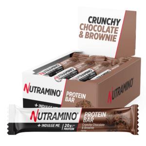 Nutramino Proteinbar Crispy Chocolate Brownie (12x64g)
