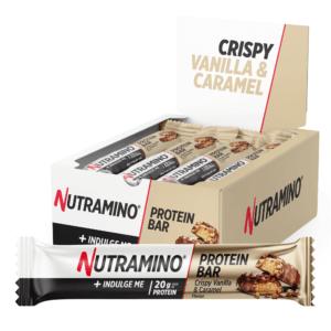 Nutramino Proteinbar Crispy Vanilla & Caramel (12x64g)