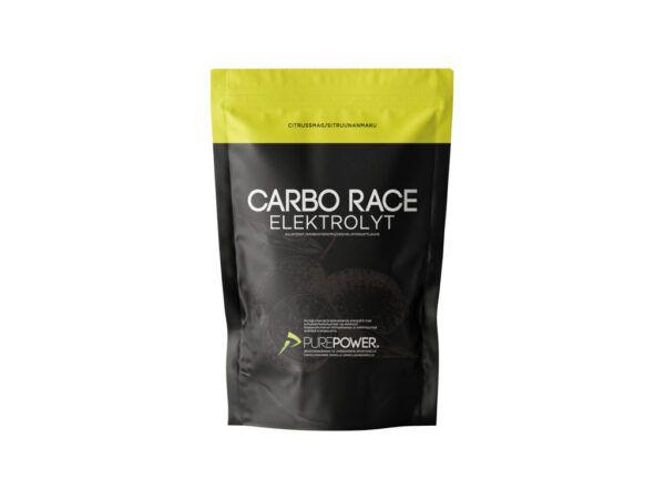 PurePower Carbo Race - Elektrolyt energidrik - Citrus - 1,0 kg