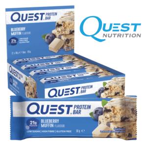 Quest Protein Bar Blueberry Muffin (12x60g)