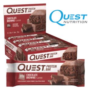 Quest Protein Bar Chocolate Brownie (12x60g)