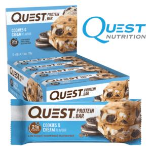 Quest Protein Bar Cookies & Cream (12x60g)