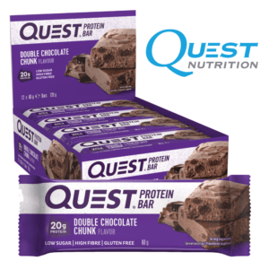 Quest Protein Bar Double Chocolate Chunk (12x60g)