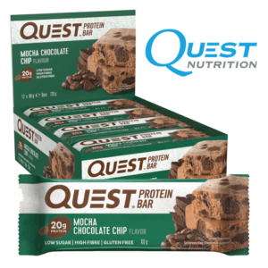 Quest Protein Bar Mocha Chocolate Chip (12x60g)