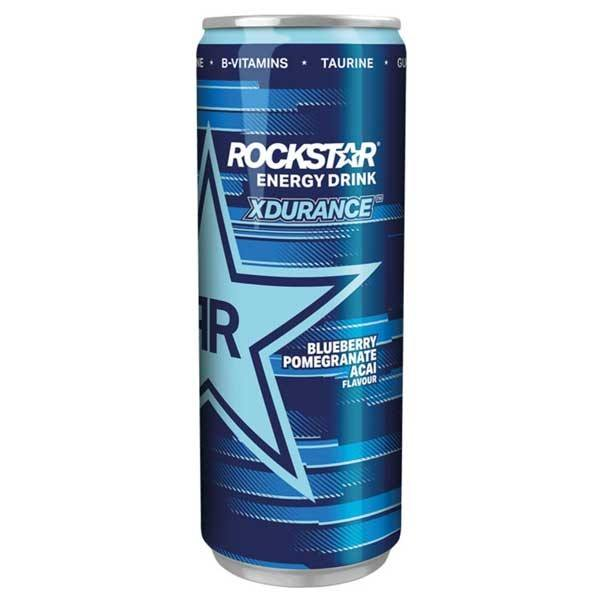 Rockstar Blueberry Pomegranate Acai Energy Drink