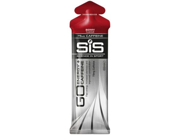 SIS GO - Energy+Caffeine gel - Koffein-gel - Berry - 60ml