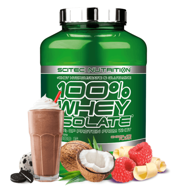 Scitec Nutrition 100% Whey Isolate (2000g)
