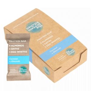 The Protein Kitchen Bar - Coconut & Almonds 12x 55g