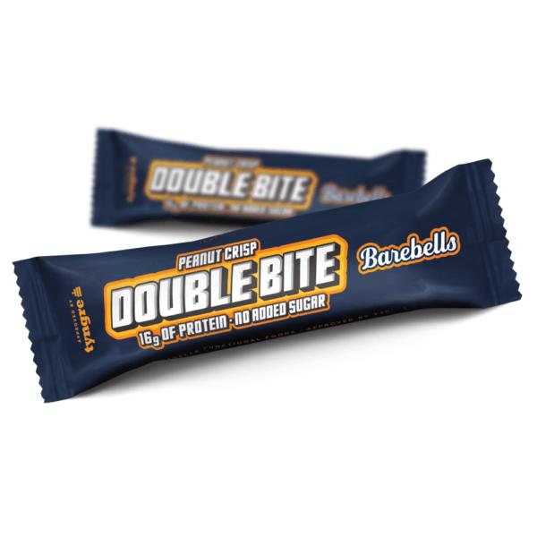 Barebells Protein Bar Double Bite Peanut Crisp (55g)