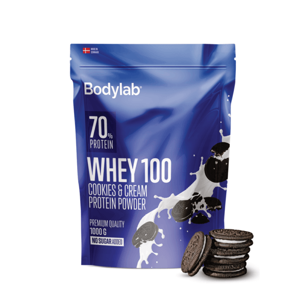 Bodylab Whey 100 (1 kg)-Cookies & Cream