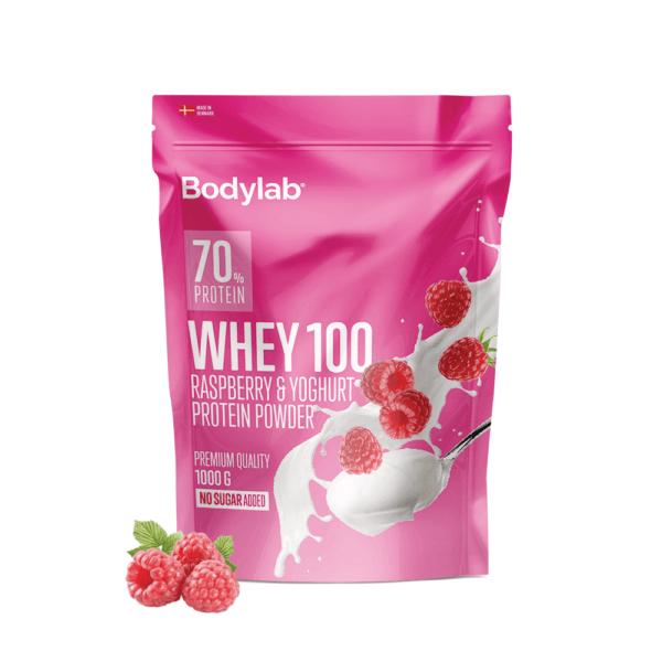 Bodylab Whey 100 (1 kg)-Raspberry & Yoghurt