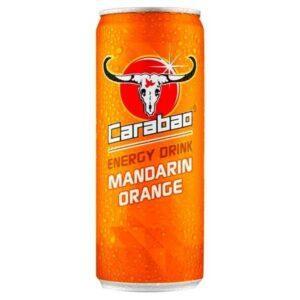 Carabao Mandarin Orange Energy Drink