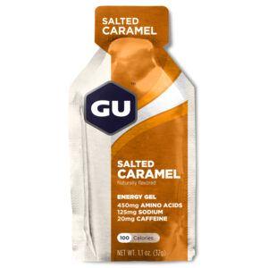 GU Energy Gel - Salted Caramel - 20 mg koffein - 32 gram