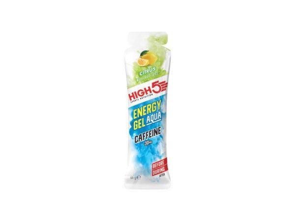 High5 Energy Gel Aqua Caffeine - Citrus 60 ml - 30 mg koffein
