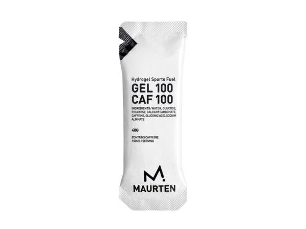 Maurten - Gel 100 med Koffein - Hydrogel Sports Fuel - Neutral Smag - 40g