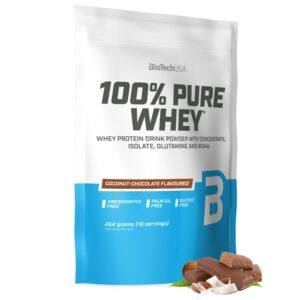 BioTechUSA 100% Pure Whey - Proteinpulver (1 kg) Coconut Chocolate