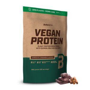 BioTechUSA Vegan Protein 500g-Chocolate-Cinnamon