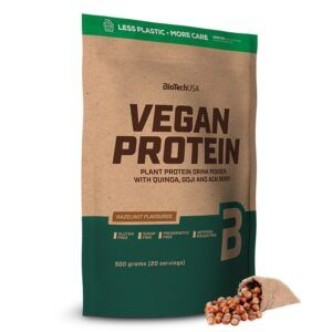 BioTechUSA Vegan Protein 500g-Hazelnut