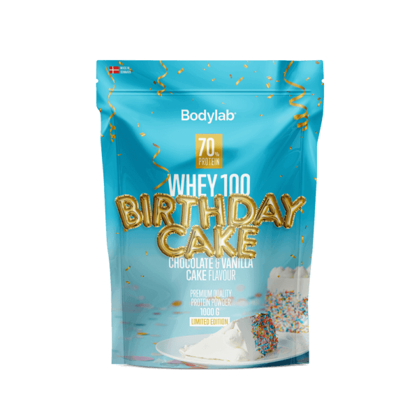 BodyLab Whey 100 Proteinpulver Birthday Cake